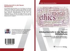 Bookcover of Ethikunterricht in der Neuen Mittelschule