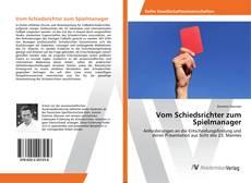 Buchcover von Vom Schiedsrichter zum Spielmanager