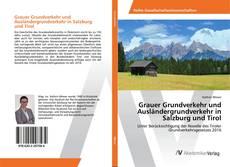 Portada del libro de Grauer Grundverkehr und Ausländergrundverkehr in Salzburg und Tirol
