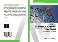 Capa do livro de Developing a Sustainable and Smart Energy System for Germany