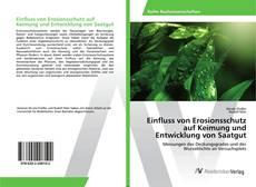 Buchcover von Einfluss von Erosionsschutz auf Keimung und Entwicklung von Saatgut
