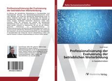 Buchcover von Professionalisierung der Evaluierung der betrieblichen Weiterbildung