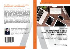 Buchcover von The differences in social media habits of Millennials and Generation Z