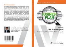 Bookcover of Der Businessplan