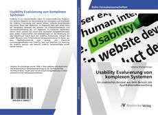 Couverture de Usability Evaluierung von komplexen Systemen