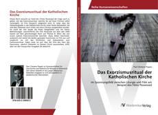 Capa do livro de Das Exorzismusritual der Katholischen Kirche
