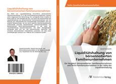 Bookcover of Liquiditätshaltung von börsennotierten Familienunternehmen