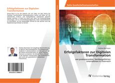 Capa do livro de Erfolgsfaktoren zur Digitalen Transformation