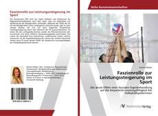 Bookcover of Faszienrolle zur Leistungssteigerung im Sport