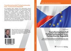 Copertina di Transformationsfall Tschechoslowakei bzw. Tschechische Republik