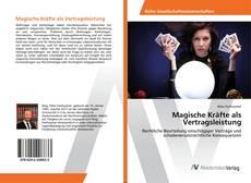 Buchcover von Magische Kräfte als Vertragsleistung