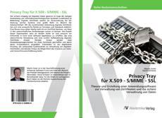 Bookcover of Privacy Tray für X.509 - S/MIME - SSL