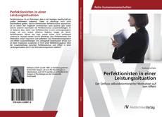 Bookcover of Perfektionisten in einer Leistungssituation