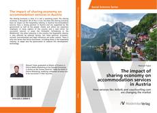 Portada del libro de The impact of sharing economy on accommodation services in Austria