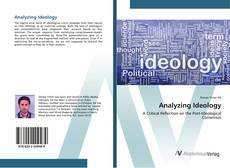 Bookcover of Analyzing Ideology