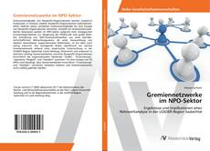 Copertina di Gremiennetzwerke im NPO-Sektor