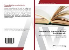 Buchcover von Nonverbale Kommunikation im Unterricht