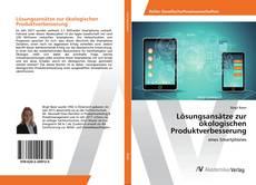 Lösungsansätze zur ökologischen Produktverbesserung kitap kapağı