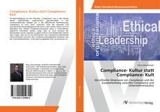 Borítókép a  Compliance- Kultur statt Compliance- Kult - hoz
