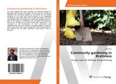 Buchcover von Community gardening in Bratislava
