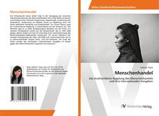 Bookcover of Menschenhandel