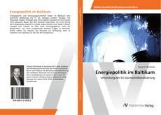 Borítókép a  Energiepolitik im Baltikum - hoz