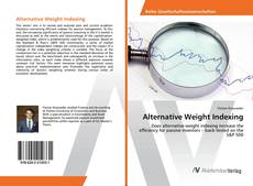 Bookcover of Alternative Weight Indexing