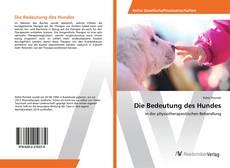 Buchcover von Die Bedeutung des Hundes