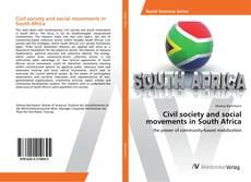 Buchcover von Civil society and social movements in South Africa