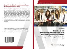 Bookcover of Lesen10-ein Schulversuchsmodell zum kriteriengeleiteten Lesen