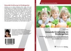 Buchcover von Gesunde Ernährung im Kindergarten