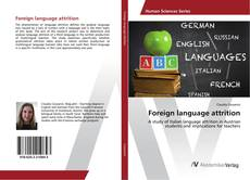 Bookcover of Foreign language attrition