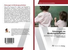 Buchcover von Störungen im Bindungsverhalten