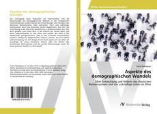 Couverture de Aspekte des demographischen Wandels