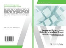 Bookcover of Implementierung eines Optimierungsalgorithmus