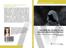 Copertina di Das Bild des Teufels in der neueren deutschen Literatur