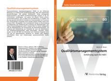 Qualitätsmanagementsystem kitap kapağı