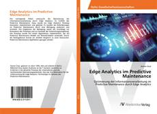 Edge Analytics im Predictive Maintenance的封面
