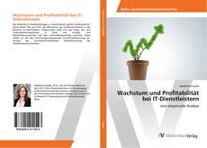 Capa do livro de Wachstum und Profitabilität bei IT-Dienstleistern