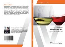 Capa do livro de Wine & Music