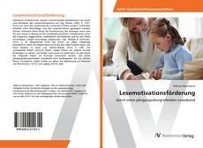 Обложка Lesemotivationsförderung