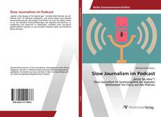 Обложка Slow Journalism im Podcast