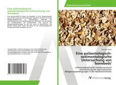 Buchcover von Eine paläontologisch-sedimentologische Untersuchung von 'bonebeds'