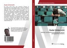 Bookcover of Guter Unterricht