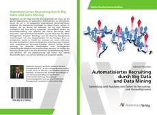 Capa do livro de Automatisiertes Recruiting durch Big Data und Data Mining