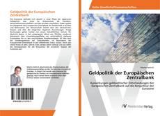 Portada del libro de Geldpolitik der Europäischen Zentralbank