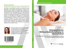 Bookcover of Osteopathische Wirksamkeitsforschung in Deutschland