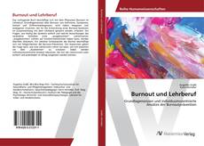 Bookcover of Burnout und Lehrberuf