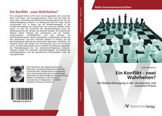 Portada del libro de Ein Konflikt - zwei Wahrheiten?