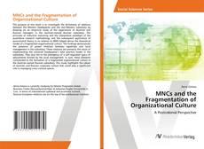 Copertina di MNCs and the Fragmentation of Organizational Culture